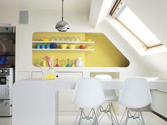 Căn bếp sinh động với những màu sắc nổi bật 16