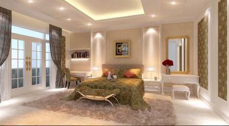 Nội thất cho phòng ngủ thoải mái và thư giãn