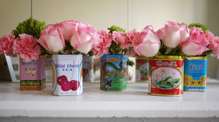 Mang sự lãng mạn đến không gian nhà bạn với cách cắm hoa độc đáo