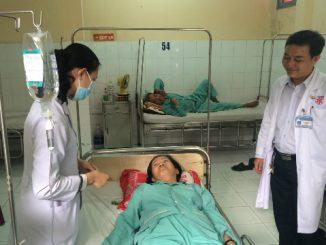 Cứu bệnh nhân ho ra máu thoát ca mổ cắt phổi 11