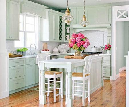 Để giảm bớt cái nóng mùa hè trong căn bếp nhà bạn