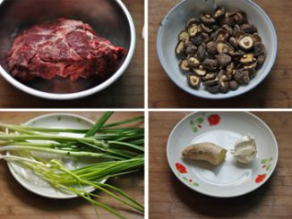Thịt bò hầm nấm đậm đà mềm thơm 13