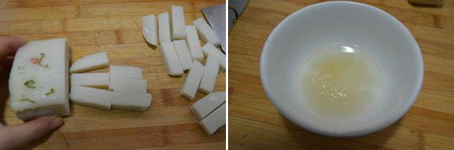 Làm bánh đúc sốt chua ngọt ăn vặt buổi chiều 16