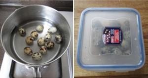 Trứng cút xốt cà chua cho bữa cơm chiều ngon miệng 12