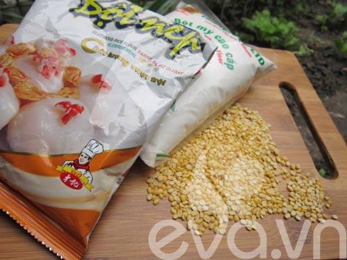 Làm bánh dày: Cách làm bánh dày đậu thơm ngon
