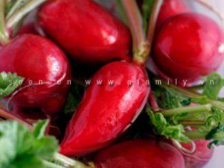 Cách tỉa hoa cơ bản nhất từ củ cải đỏ 7