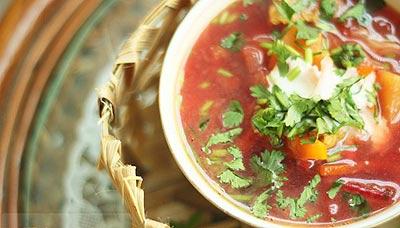 Nấu súp kiểu Nga cho ngày giá lạnh