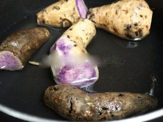 Cách làm bánh bò khoai lang tím thơm ngon 10