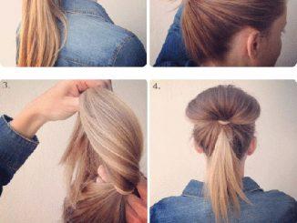 Cách làm tóc búi trẻ trung năng động 9