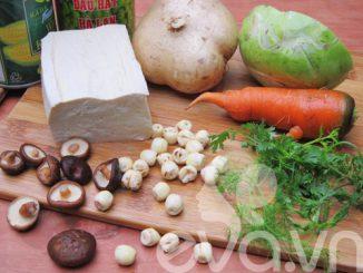 Cách nấu canh rau củ chay - món ngon không thể thiếu ngày Rằm 12