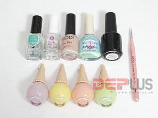 Mẫu nail pastel cực chất bạn không thể bỏ lỡ cho ngày Tết 12