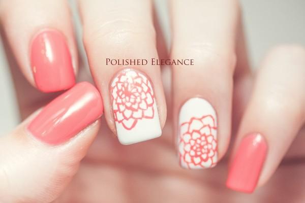 Những mẫu nail floral đảm bảo bạn sẽ thích