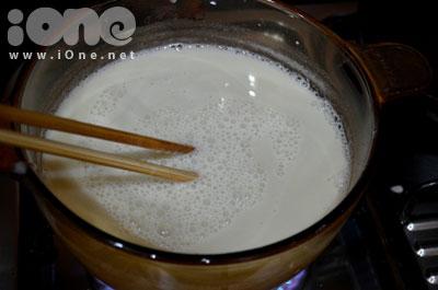 Thạch sữa đậu nành cho hè thêm mát