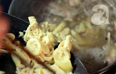 Cách nấu bún măng vịt nóng hổi