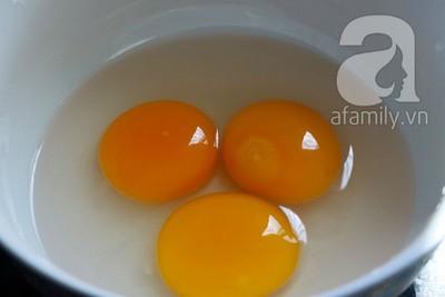 Nấm hấp trứng muối lạ miệng ngon cơm