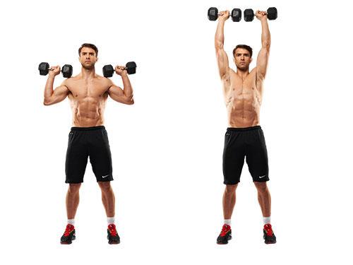 8 bài tập thể dục cho phần thân trên săn chắc