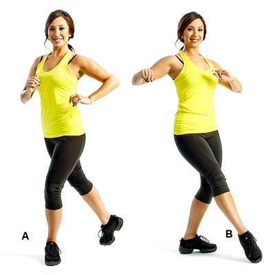 Thon gọn đơn giản với bước nhảy salsa