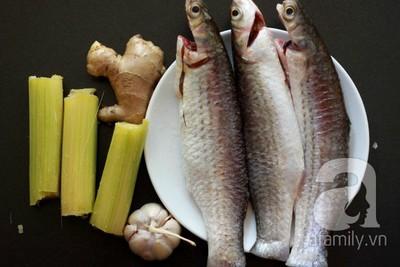 Cách làm cá kho mía gừng đậm đà bữa tối ấm cúng