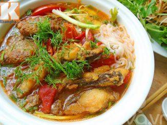Cách làm bánh đa cá rô thơm ngon chắc bụng cho bữa sáng 13