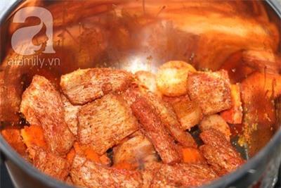 Bữa cơm đầu tháng tròn đầy với đậu hũ kho chay