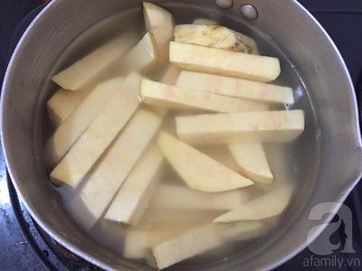 Cách làm khoai lang lắc phô mai nóng hổi cho ngày lạnh