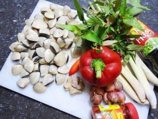 Cách làm ngao xào sả ớt đậm đà, cay cay ăn không ngấy 10