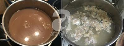 Cách nấu bún riêu ốc nóng hổi cho cả nhà vừa ăn vừa thổi