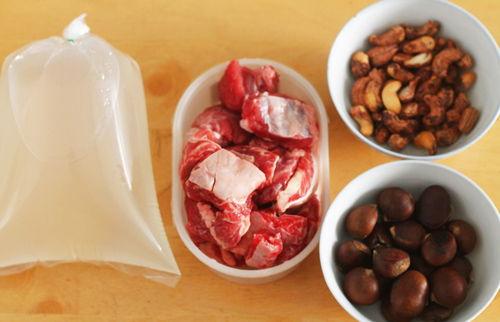 Cách nấu thịt bò hầm hạt dẻ bùi ngon cho dịp cuối tuần