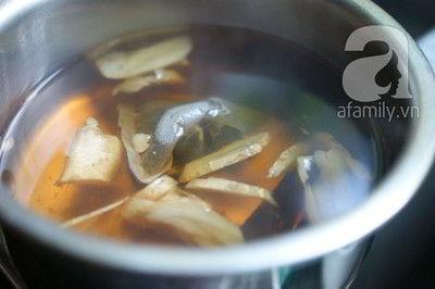 Cách pha trà gừng quế thơm lừng cho tối trở lạnh