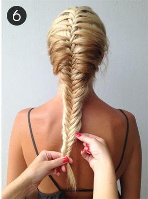 Hướng dẫn cách tết tóc đuôi cá chi tiết và dễ làm nhất