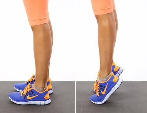 Sở hữu đôi chân thon nhờ 3 động tác cực dễ