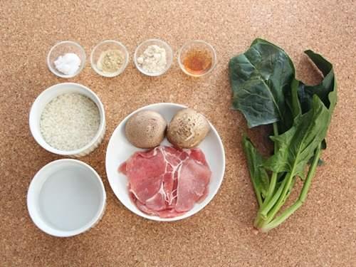 Cháo thịt heo cải bó xôi nóng hổi, ấm bụng bữa sáng đầu tuần