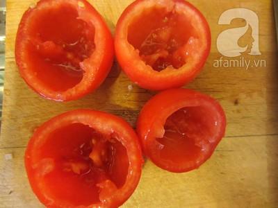 Món cà chua nhồi thịt hấp dẫn!
