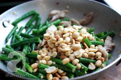 Cách làm đậu đũa xào thịt ăn không cũng thấy ngon