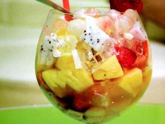 Hướng dẫn làm món chè trái cây 9