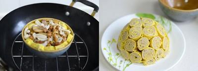 Làm trứng cuộn thịt cho bữa tối ngon miệng