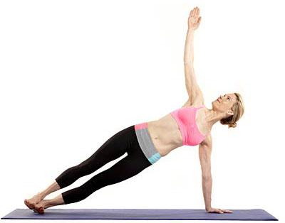 Bài tập Yoga 5 phút cho cánh tay săn chắc
