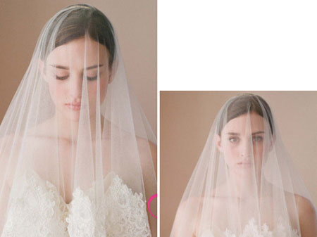 Những kiểu tóc cô dâu cổ điển sang trọng