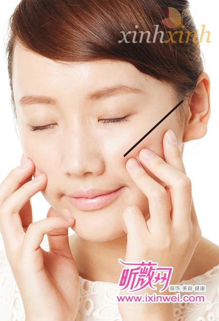 Massage cho gương mặt hồng hào và thon gọn