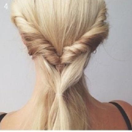 Cách tết tóc đẹp lạ cho dân công sở ngày hè
