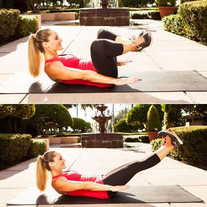 Hướng dẫn 8 động tác đánh tan mỡ bụng