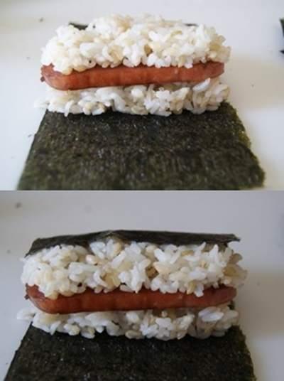 Cách làm kimbap musubi cực dễ cho cô nàng vụng về