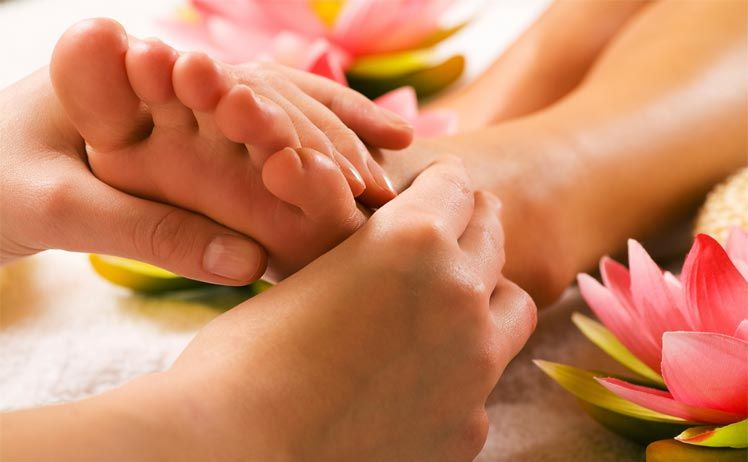 Một số chú ý cần biết khi massage chân