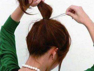 Cách búi tóc phồng kiểu Hàn Quốc 12