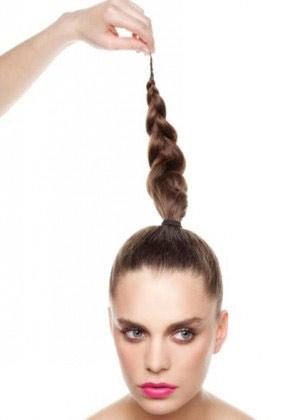 Hướng dẫn làm tóc búi tết năng động