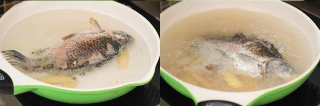 Súp cá chép củ cải bổ dưỡng cho ngày trời mưa gió