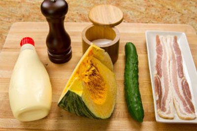 Lạ miệng salad bí ngô chế biến kiểu Nhật