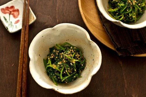 Tự làm món rau cải trộn vừng thơm ngon cực lạ miệng